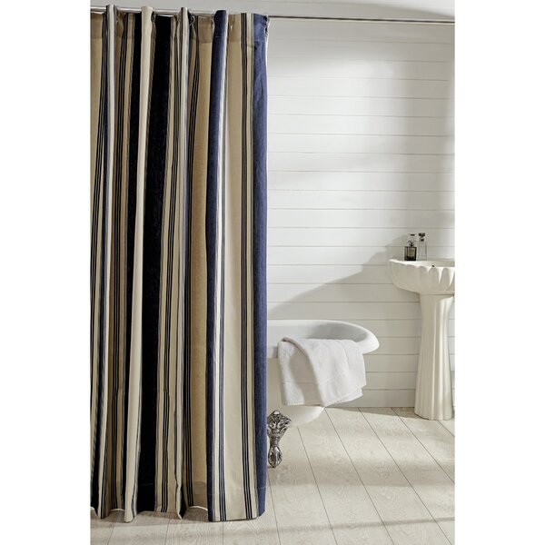 Cody 100% Cotton Shower Curtain by Amity Home